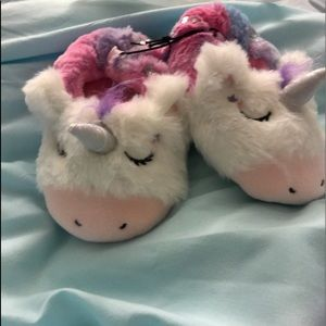 Other - Super soft Sleeping Unicorn slippers